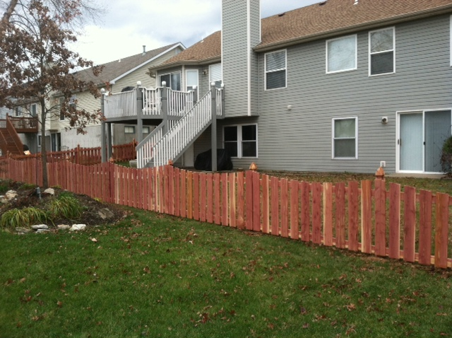 4ft Eastern Red Cedar Decorative Fence
