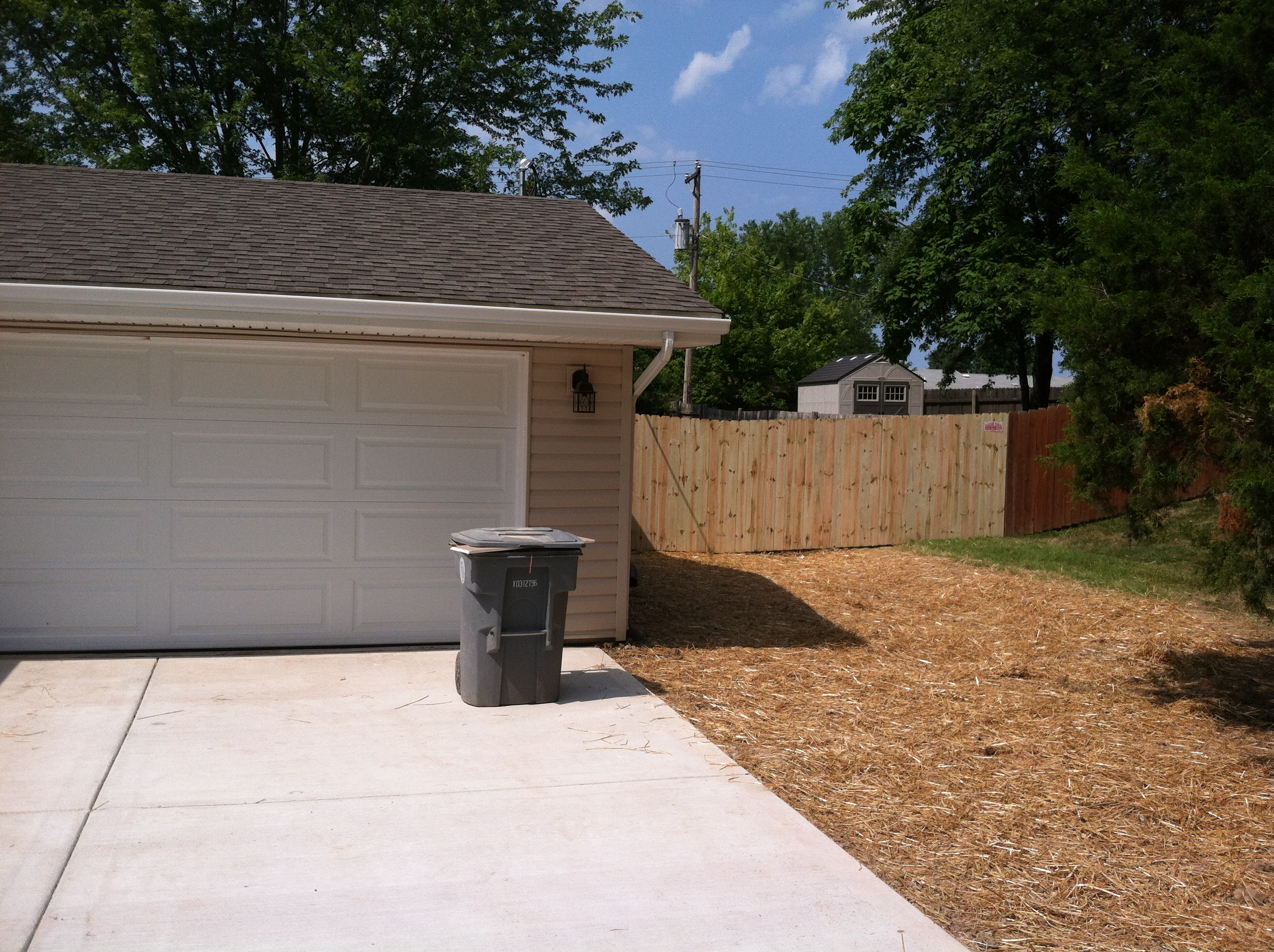 6ft Tall Treated Privacy Fence